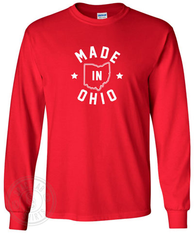 b62b982082fe 216 Made In Cleveland Ohio T-Shirt Believeland Cavs Browns Indians The Land  Fan T-Shirts ...